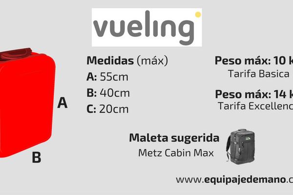 Equipaje de Mano Vueling