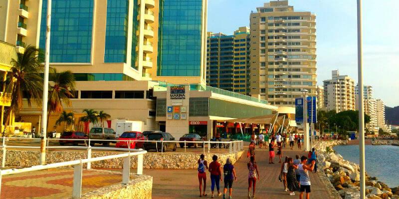 Marina Santa Marta centro
