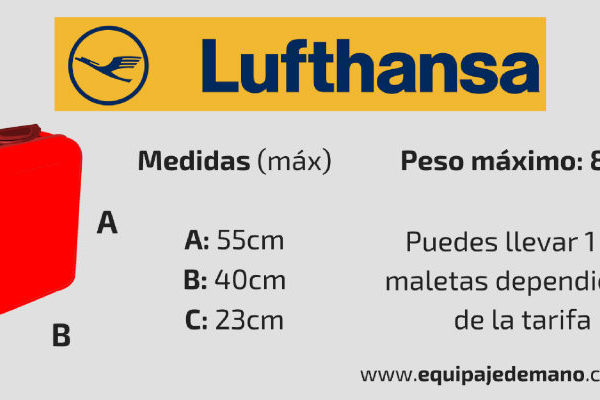 Equipaje de Mano Lufthansa