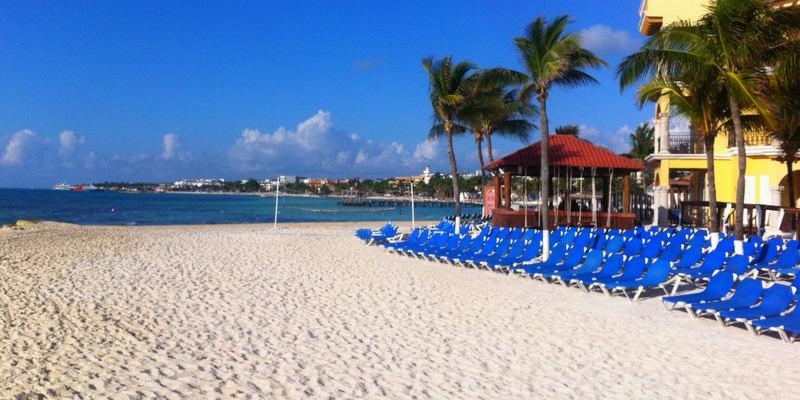 Hoteles baratos en Playa del Carmen