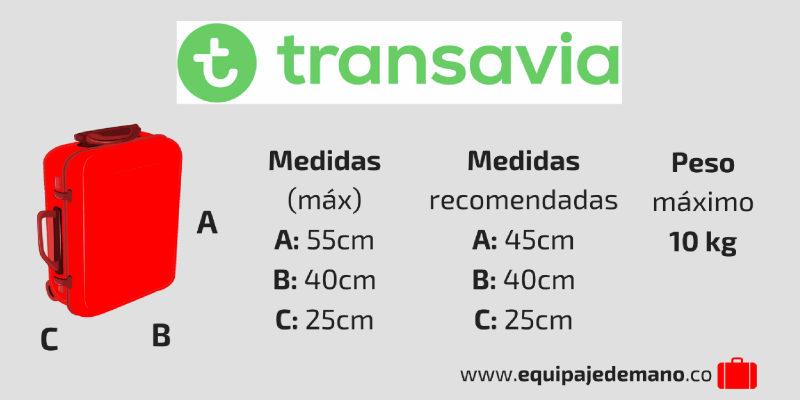 Equipaje de Mano Transavia