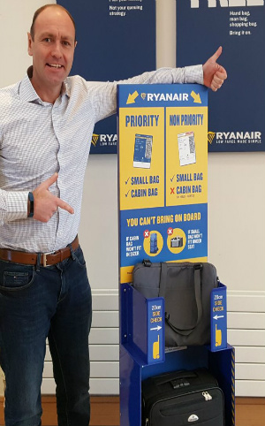 Segundo equipaje Ryanair