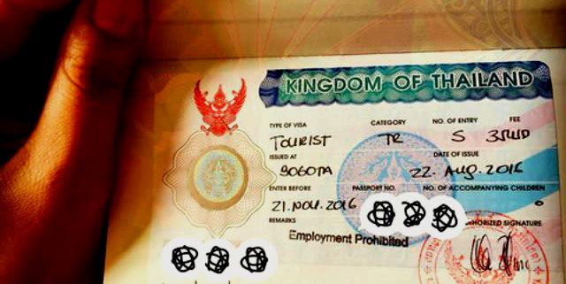 Tailandia visa