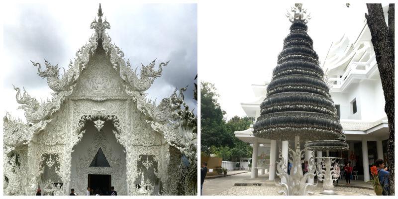 white temple tailandia