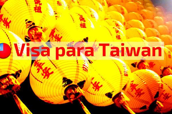 Visa para Taiwan