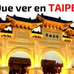 Que ver en Taipei