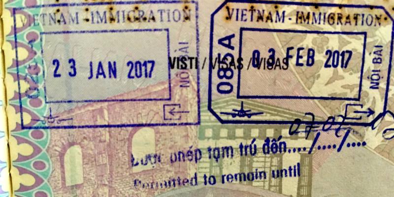 visado Vietnam para españoles