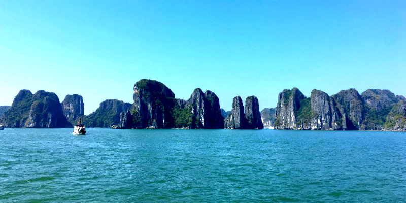 el tiempo en halong bay