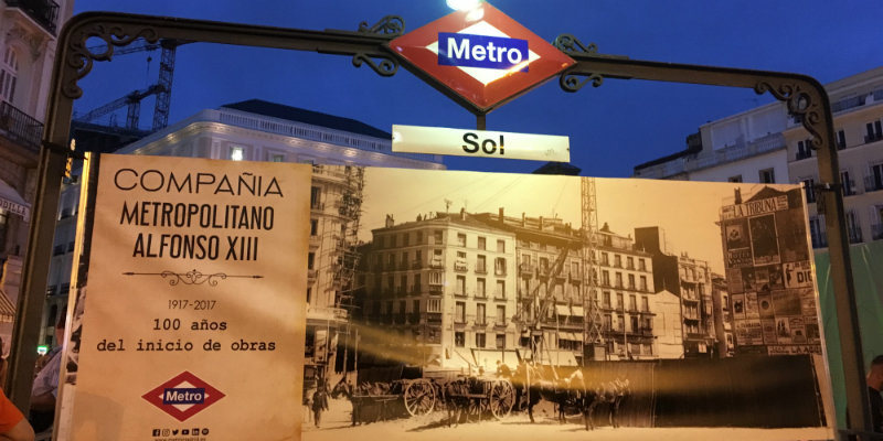 Metro aeropuerto madrid