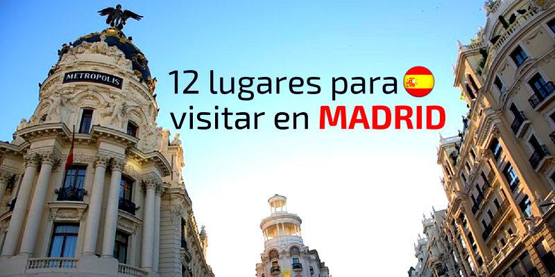 12 lugares para visitar en madrid qu hacer y qu ver en for Sitios divertidos en madrid
