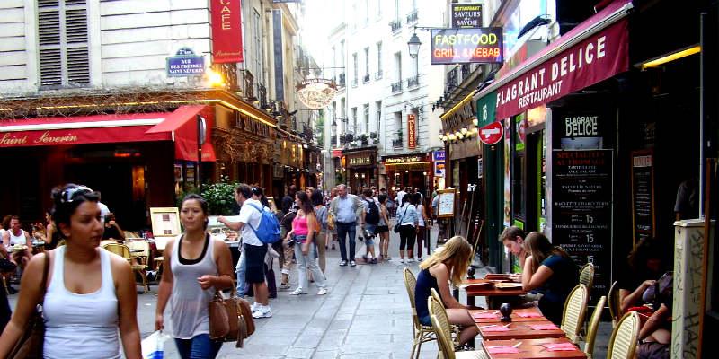 hoteles en paris barrio latino