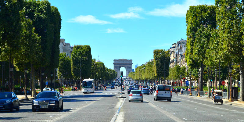 hoteles en paris centro